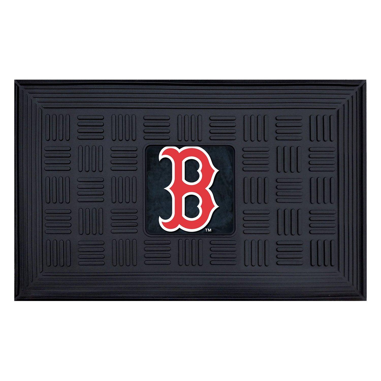 FANMATS MLB Boston Red Sox Vinyl Door Mat