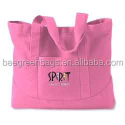 BeeGreen Popular cotton shopping bags with logos custom