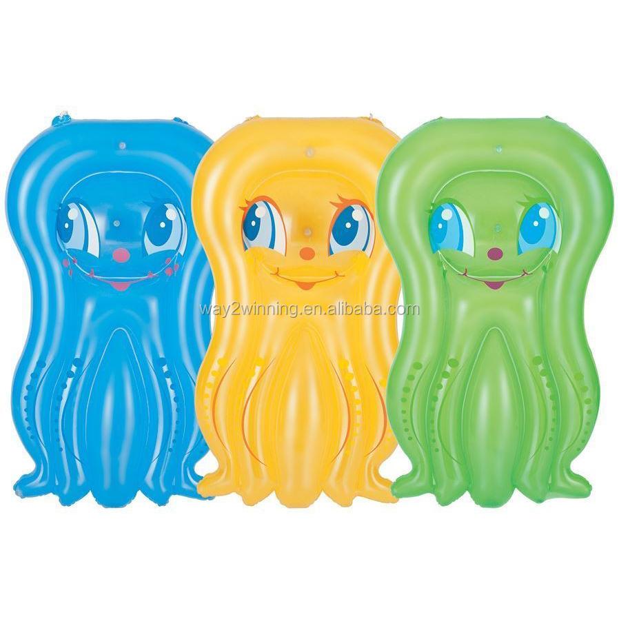 Pulpo inflable colchonetas colch n de aire cama de la for Pulpo para piscina