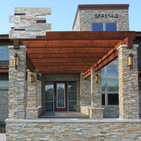 Exterior e interior revestimiento de piedra para la decoraci n de la casa otras piedras - Revestimiento para exterior ...