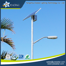 40W lamp 100W poly panel solar street light lithium battery