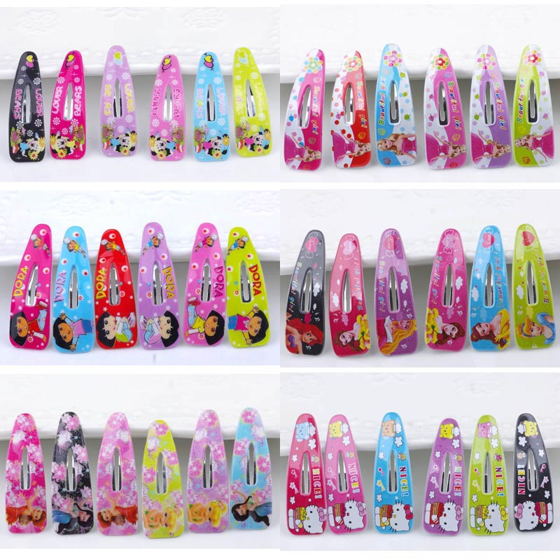 bb barrettes kitty clip Hair accessory accessories wholesale Hair Baby Girl ToddlerKids Satin Hairpin Hair Decorations36pcs