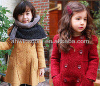 LATEST FASHION WARM GIRL'S WOOLEN COAT
