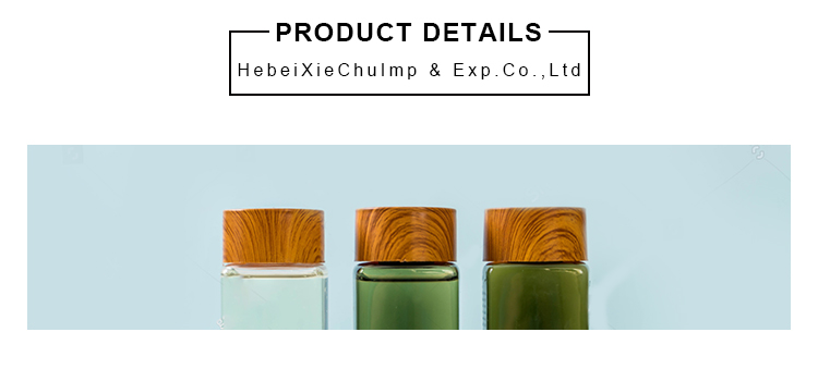 eco-friendly bamboo container 5g 10g 15g 20g 30g 50g frosted glass cream jar bamboo lid
