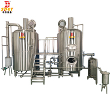 Mini Beer Equipment, Beer, Micro 400LBeer Machine, Red Copper Tank Used Brewery Equipment For Sale Beer Stainless Steel Tank