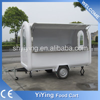 New style YY-FR280B 2016 New Style Wood Hot Dog Vending Cart