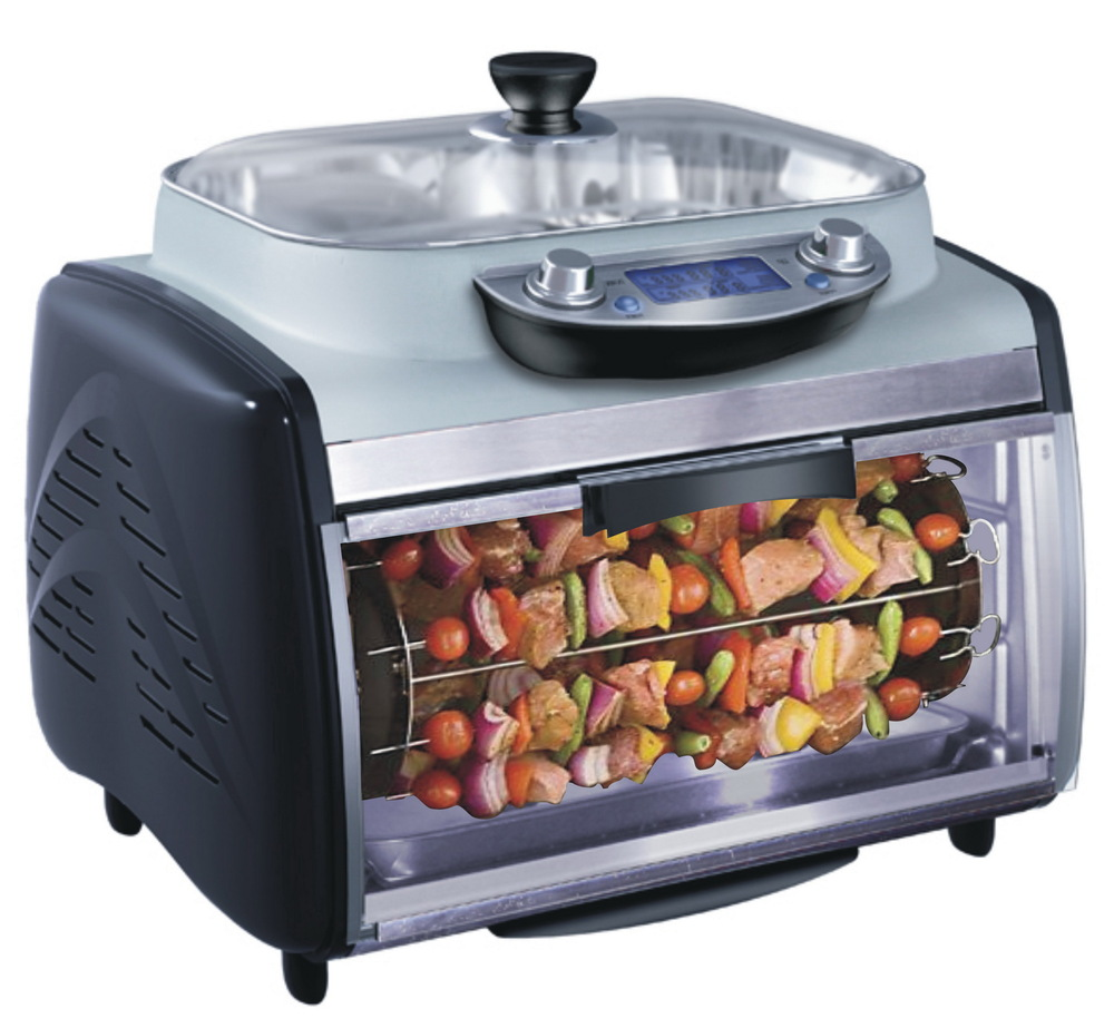 Electric Oven And Grill Part - 30: Double Deck Electric Bread Oven Electric Oven Price