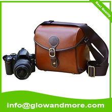 Professional high quality camera bag leather