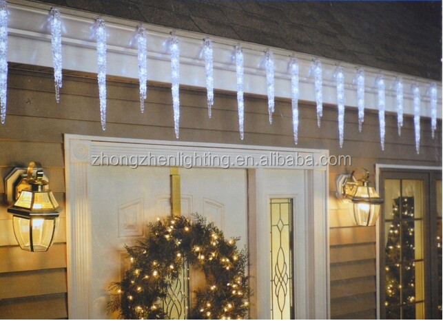 Super Bright Led Christmas Falling Ice Drop Icicle Lights - Buy ...