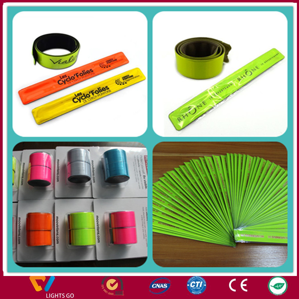 customized event gift plastic glow in the dark pvc bracelet
