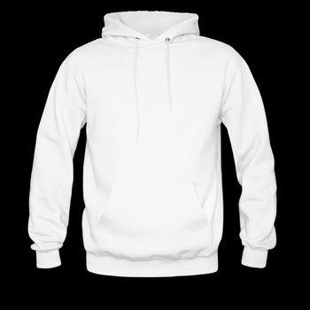 e9219ebd15d Men Plain White Hoodie With Kangroo Pocket - Buy White Hoodie ...
