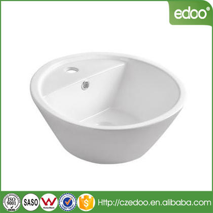 Israel Design Chaozhou Ceramic basin Factory Bathroom stone Sink with low price washing basin