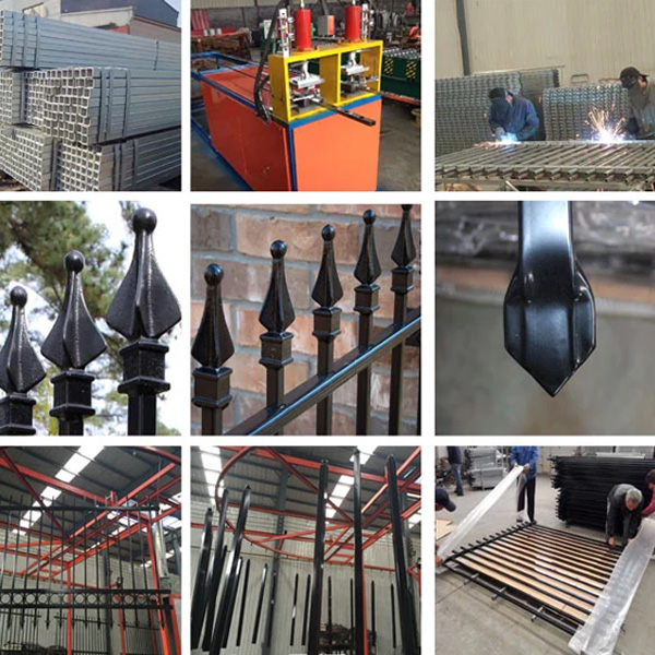 China wholesale ornamental metal fence caps decorative guardrail wire mesh fence for boundary wall