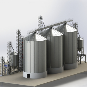 Professional 5000 Tons Grain Storage Silos Prices