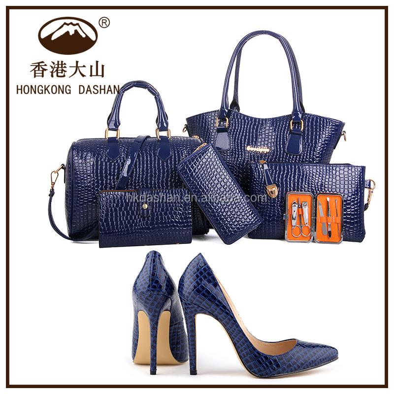 Y71 Bolso Y Zapatos Set 6 Para Las Mujeres En Bolsos Bolsa De ...