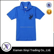 OEM/ Custom Embroidery 100% cotton men's polo shirts