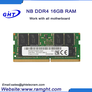 Brand/OEM ddr4 32gb 2pieces 2R*16GB ddr ram stick for notebook laptop