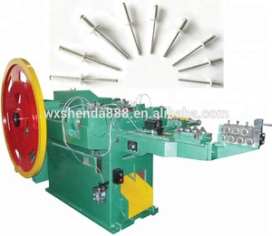 Fully Automatically Blind Rivet Heading Making Machine Manufacturer