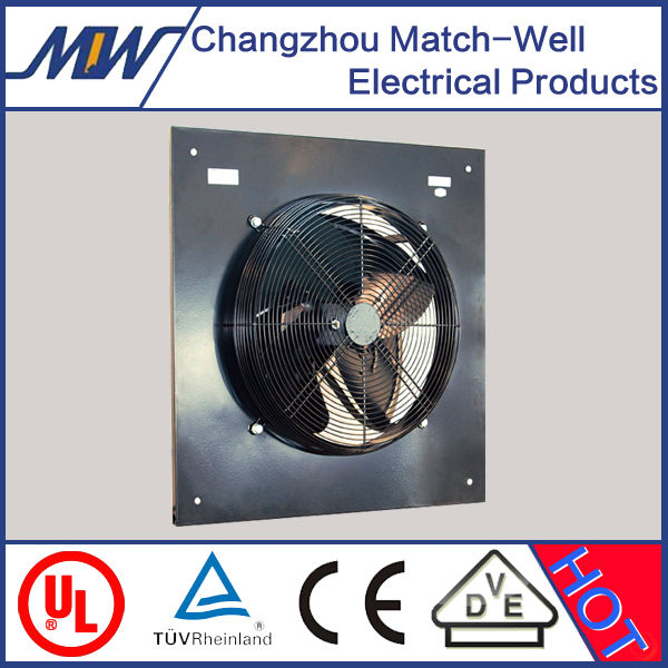 Match-Well axial fans ZF700 with antirust aluminum alloy or plastic fan blade