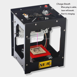 EM-05 NEJE 1500mw Automatic DIY Print CO2 Off-line Operation Mini 3D Laser Engraving machine
