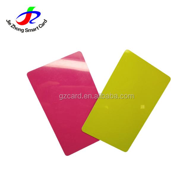 Yazdırılabilir boş süblimasyon kartvizit üreticisi laminasyon ile