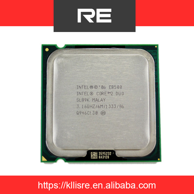 Intel Core 2 Duo E8500 3.16 GHz 6M Dual-Core Processor Socket 775 CPU SLB9K