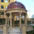 High Quality European Style Dome Shaped Black Marble Gazebo For Sale