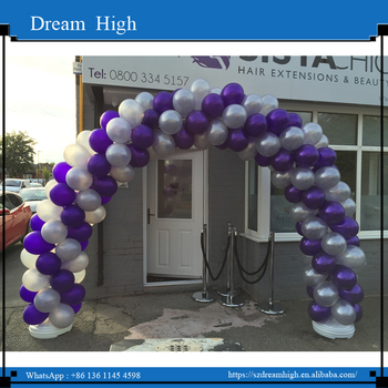 Hot Sale Latex Balloon Arch Kit Column Stand For Wedding Decorations Air Ball Happy Birthday