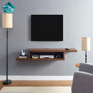 New Design Modern Simple Wall Cabinet Units Designs Wood Wall Mounted TV  Cabinet