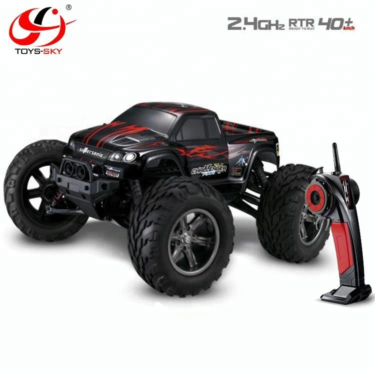 Hot RC Car New 1:12 Scale 40KMH+ 2 4GHz Supersonic wild challenger turbo  electric 4wd rc remote control truck car toy, View rc remote control truck,