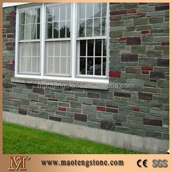 Popular House Outdoor Wall Design Deco Stone Wall Tile Exterior