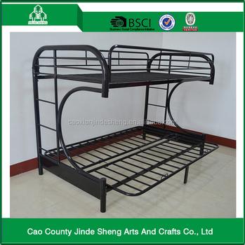 Metal Bed Living Room Furniture Metal Futon Bunk Bed Curl C Design