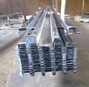 Hot dipped galvanized steel roof beams