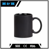 FDA Approved High Quality black coffee mug wholesale team mug