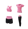 pink 4pcs with shorts