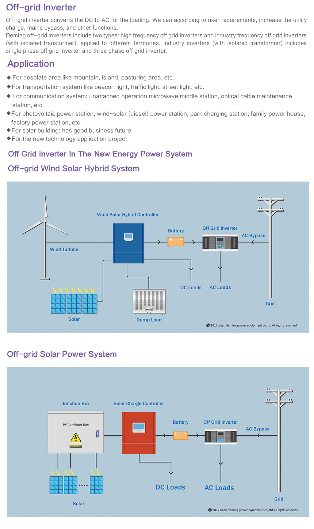 High Quality Sine Wave Off Grid Three Phase 500kw Solar Inverter Diesel Power Plant Diagram