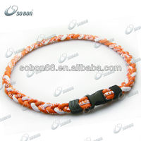 New Hot Ionic Titanium Basketball Sport Necklace for professional athletes