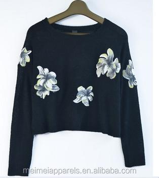 Anti-pilling Wool Handmade Sweater Design For Girl