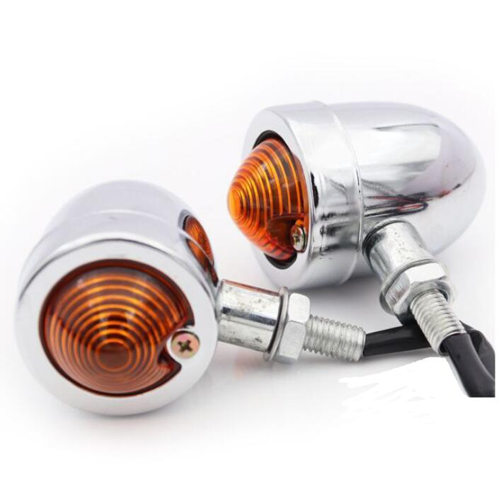 1156 for Harley 50mm perfk 1 Pair Motorcycle LED Turn Signal Blinker Indicator 2inch