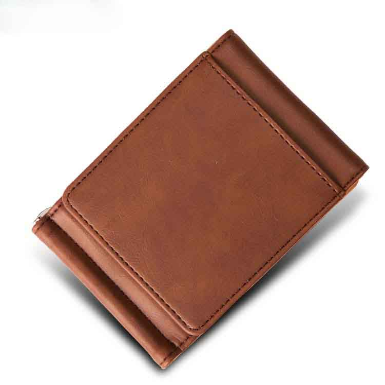 Creative leather wallet men Wholesale mens wallet genuine leather wallet and purse accept OEM/ODM order