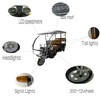 Electric tricycle spare parts motor kits price