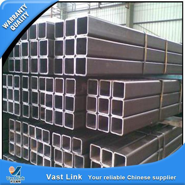 Multifunctional welded mild carbon q235 steel square tube/pipe china alibaba supplier with great price