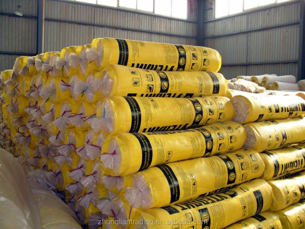 Heat Insulation Materials Sound Insulation Glass Fiber Wool/Fiber Glass With Aluminium Foil