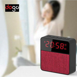 Audio Sound System Voice Control Bluetooths BT FM radio alarm clock speaker