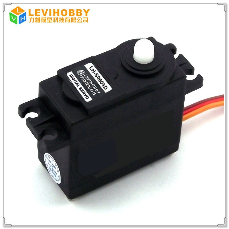 LEVIHOBBY S0600D 270 Degree Rotation Futaba Standard Size 6kg Digital Servo for RC Boat