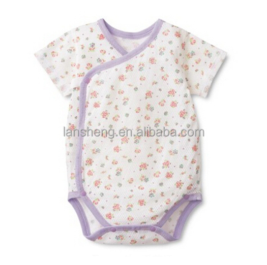 8dad18af5a90 Kimono Style Baby Rompers