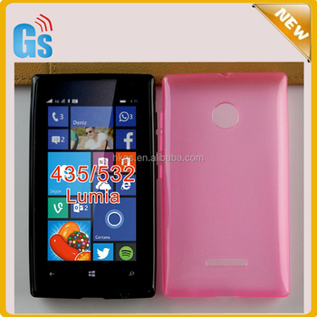 timeless design 1df20 4c593 2015 Wholesale Soft Tpu Jelly Case For Nokia For Microsoft Lumia 435/435  Dual/532 Skin Cover - Buy Case For Nokia Lumia 532,For Lumia 435 Dual ...
