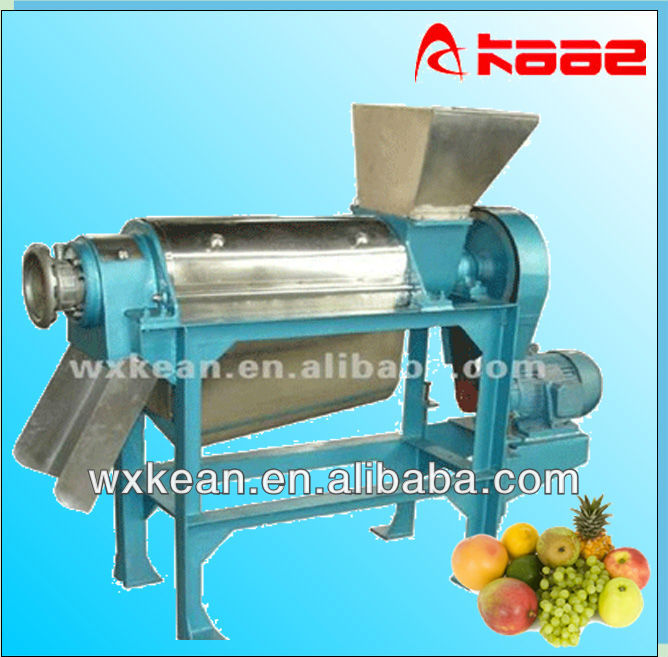 Hot sale automatic screw type kiwi juice pressing machine for apple,pear,carrot,tomato,kiwi,onion,cherry,celery,etc.