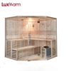 Canadian hemlock traditional wet steam sauna for enhancing immunity