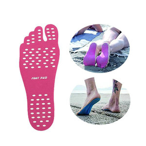 Stick-on Soles Sticker Pads,Non-slip Nakefit Feet Sticker for Beach,Pool,SPA and other outdoor actitiy